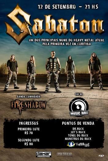 Fire Shadow & Sabaton