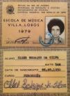 carterinha do Instituto Villa-Lobos(RJ) - Elber Bedaque