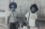 Elber Bedaque e Cidinho Moreira(percussionista)