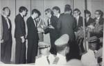 Entrega do troféu Jacaré (eu recebendo o troféu do Jaime Allen) - Elber Bedaque