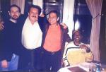 Itamar Assiére(pianista) Maestro Eduardo Lages(Roberto Carlos)- Eu e Zeppa(guitarrista) Festival da Globo - Elber Bedaque