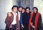 Manassés(guit.) maestro Eduardo Souto Netto(compositor do tema do Ayrton Senna-fórmula 1 e esposa- no Blue Note em Nova York. - Elber Bedaque