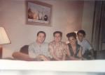 Markinho Faria- Repolho e Nelson Motta(produtor-compositor) em Nova York - Elber Bedaque