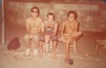 Ney Matogrosso e Arnaldo Brandão(baixista do Caetano Veloso em Jericó(Israel) - Elber Bedaque