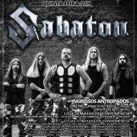 Sabaton: Banda retorna ao Brasil com nova turnê mundial.