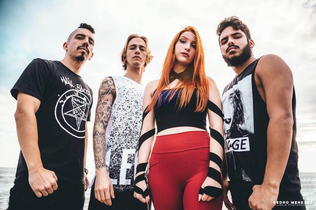 Hatefulmurder: Angélica Burns e Renan Campos em vídeo para faixa 'Sillence Will Fall'