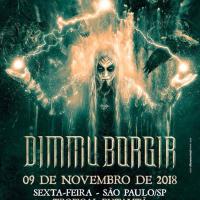 Dimmu Borgir: 1º lote de ingressos esgotado para show em São Paulo